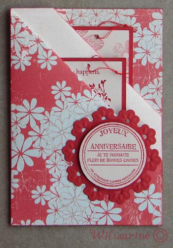 annif femme carte + tags