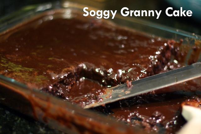 Soggy Granny Cake