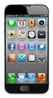 Apple iPhone 5 mock-up