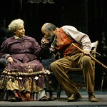 Phylicia Rashad as Aunt Ester and Anthony Chisholm as Solly Two Kings in the Huntington Theatre Company's production of August Wilson's