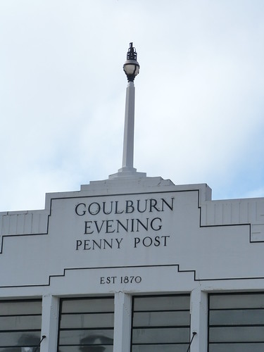 Goulburn Evening Penny Post Building