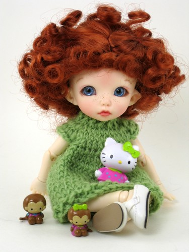 Ante with her toys by elizabeth's*whimsies