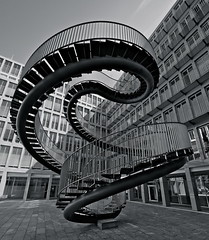 The Impossible Staircase - Umschreibung #1