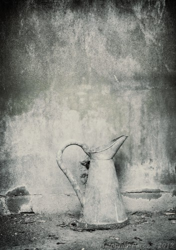 Pitcher ~ tin type