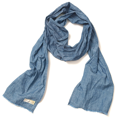 Rugby / Chambray Scarf
