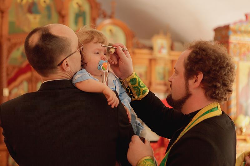 Фотосъемка крещения, Новосибирск