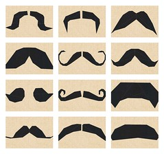 Mustachio - 12 Mustaches to paper pieced!