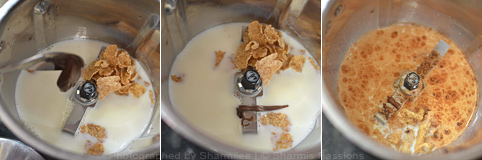 Nutella Milkshake - Step1