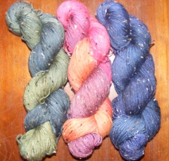 BFL/Donegal sock yarn