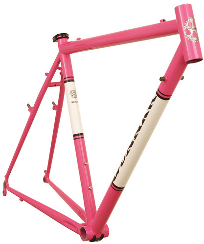 <p>Front View of Pink Panther with Panels CrossHairs 54cm - 63439.</p>