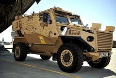 Foxhound Patrol Vehicle Arrives in Afghanistan