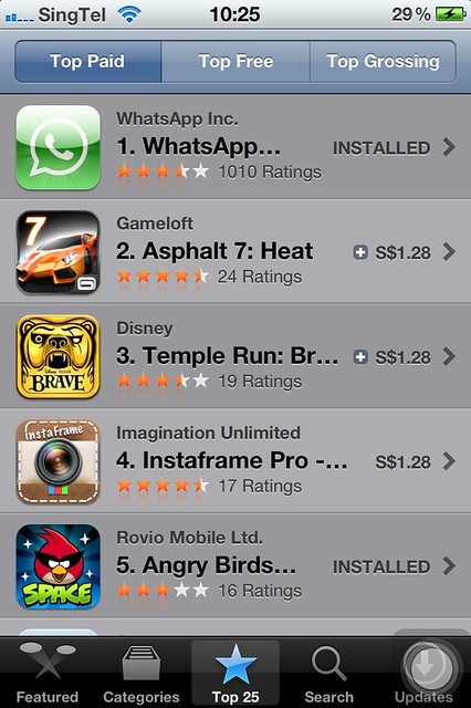 iOS App Store Now In Singapore Dollars (S$) - iPhone