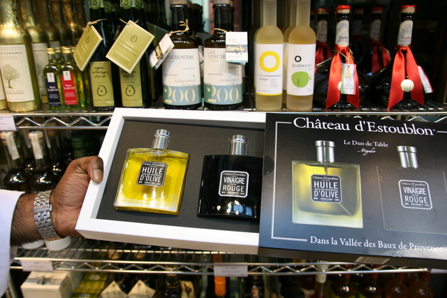 Chateau D'Estoublon oil and vinegar table duet