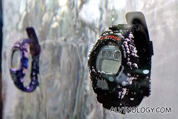 Another pair of indestructible G-Shock watches