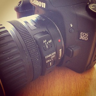 RIP good buddy. :-( My Canon bit the dust and I am now without a good camera for the first time since highschool. *sob* #holdme #hyperventilating