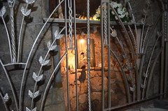 Mary's well at the Orthodox Church of the Annunciation