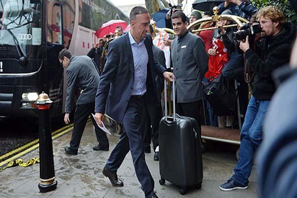 Bayern Munich y Borussia Dortmund llegaron a Londres