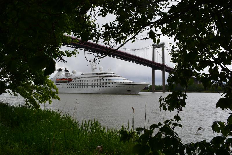 Appareillage du MS SEABOURN PRIDE - Bordeaux - 20 mai 2013