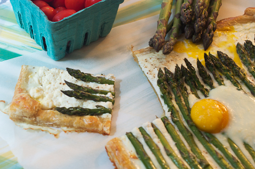 Asparagus, Ricotta and Egg Tart #WeekdaySupper