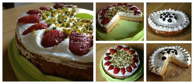 torta paradiso con panna