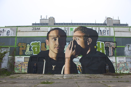 The Secret - JBAK Mural Found in Magdeburg, Germany