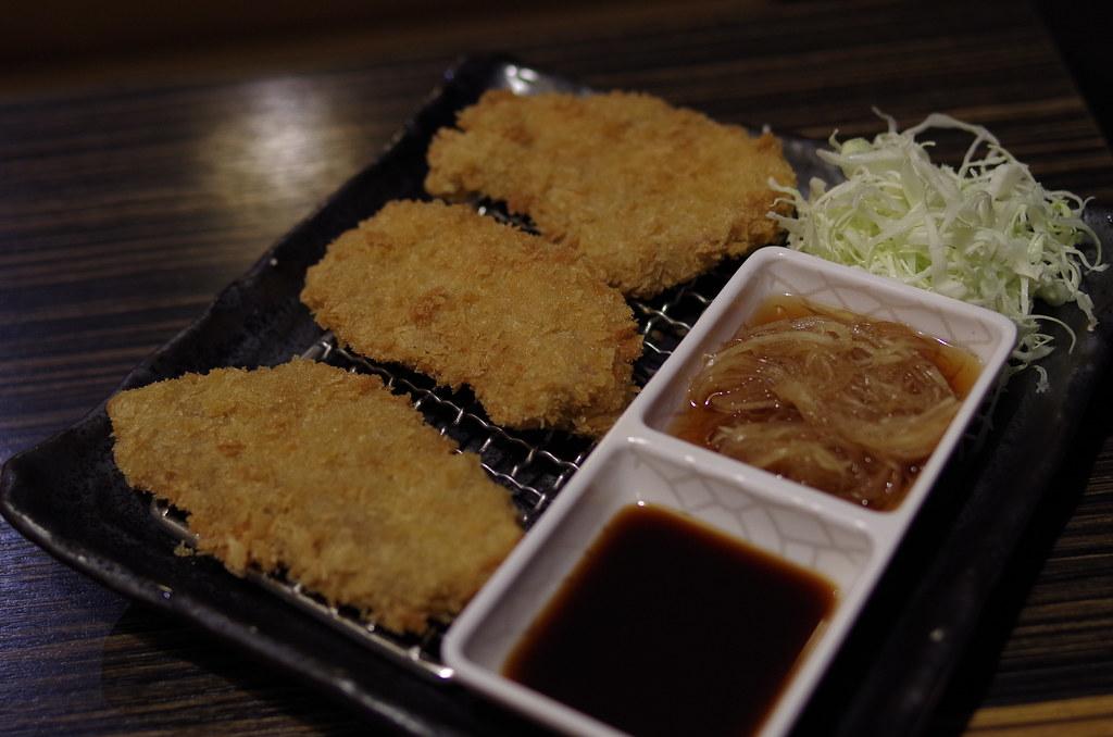 (台北)齊家餃子館 + (花蓮)荒井家炸豬排