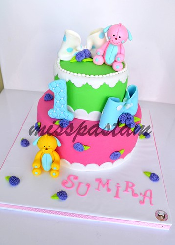 Su Mira birthday cake by MİSSPASTAM