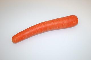 05 - Zutat Möhre / Ingredient carrot