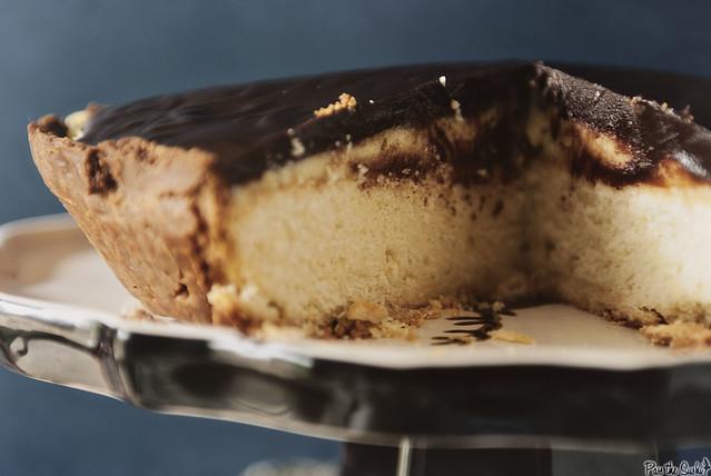 Boston Cream Pie from PasstheSushi.com