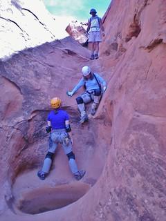 Jill Down Climbing Miss Piggy