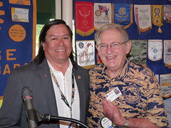 Burt Celebrates Twenty Years In Rotary