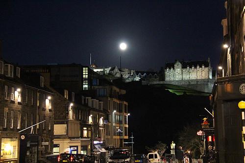 castle @ night