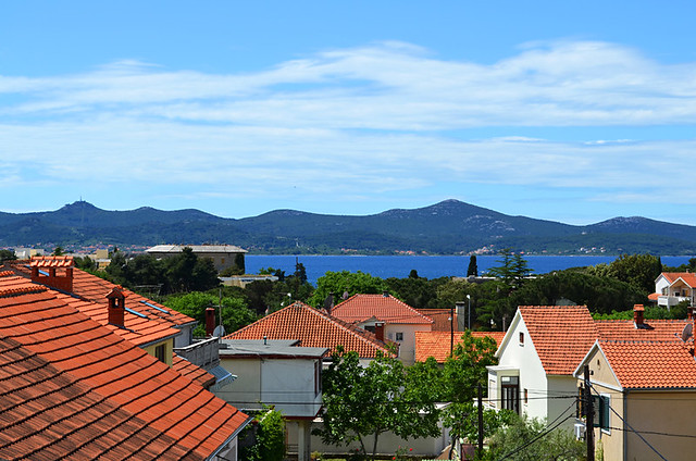 View from Balcony, Amico Apartments, Zadar