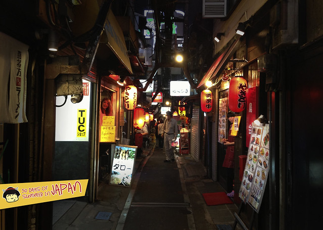 Piss Alley aka Yakitori Alley or Memory Lane Shinjuku 2