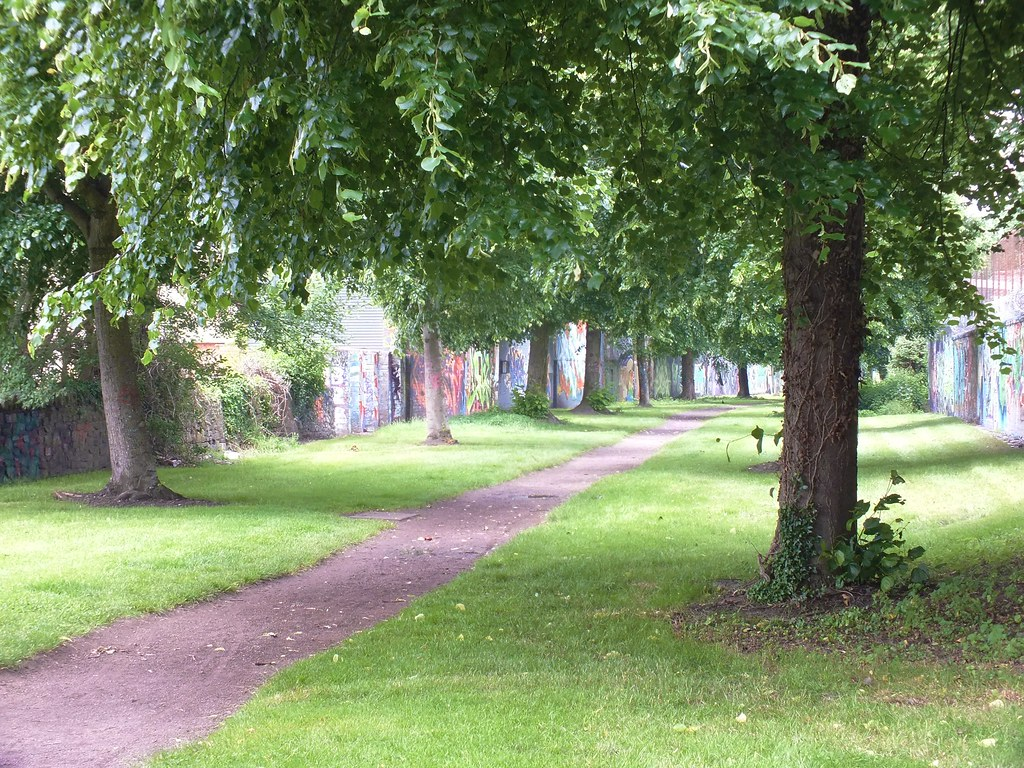 GRAFFITI Hailey Park, Cardiff.