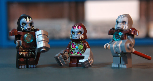 Minifigs Legend of Chima