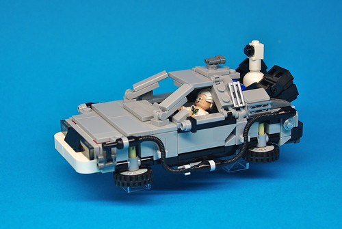 LEGO Back to the Future DeLorean (10)