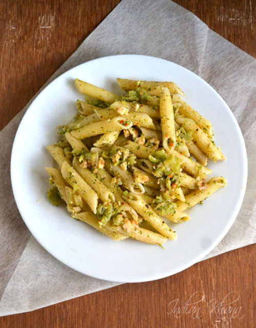 Broccoli Pesto Pasta | Pasta Recipes