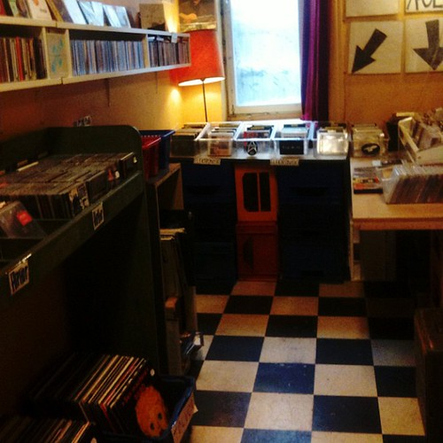 Record shopping yesterday in Stockholm
