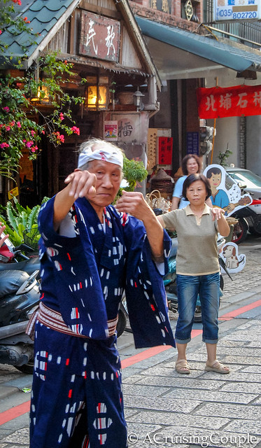 Beipu Taiwan Dancing in the Streets