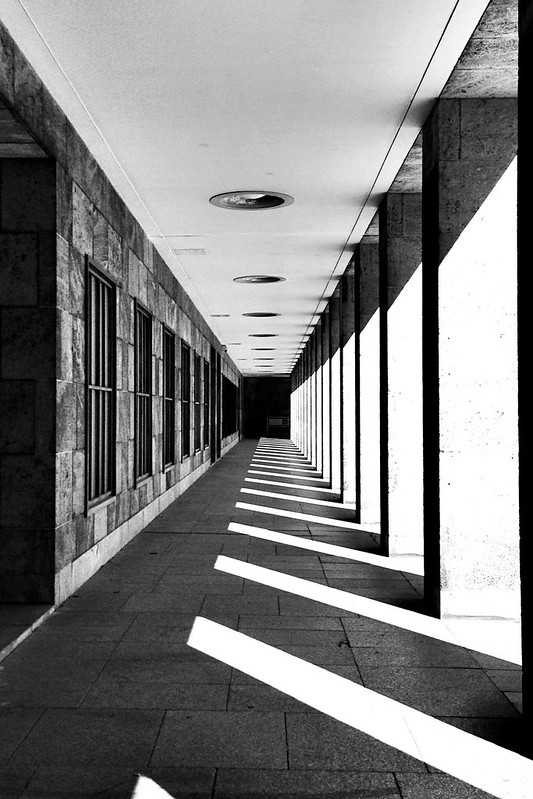 Perspektive in Schwarz-Weiß