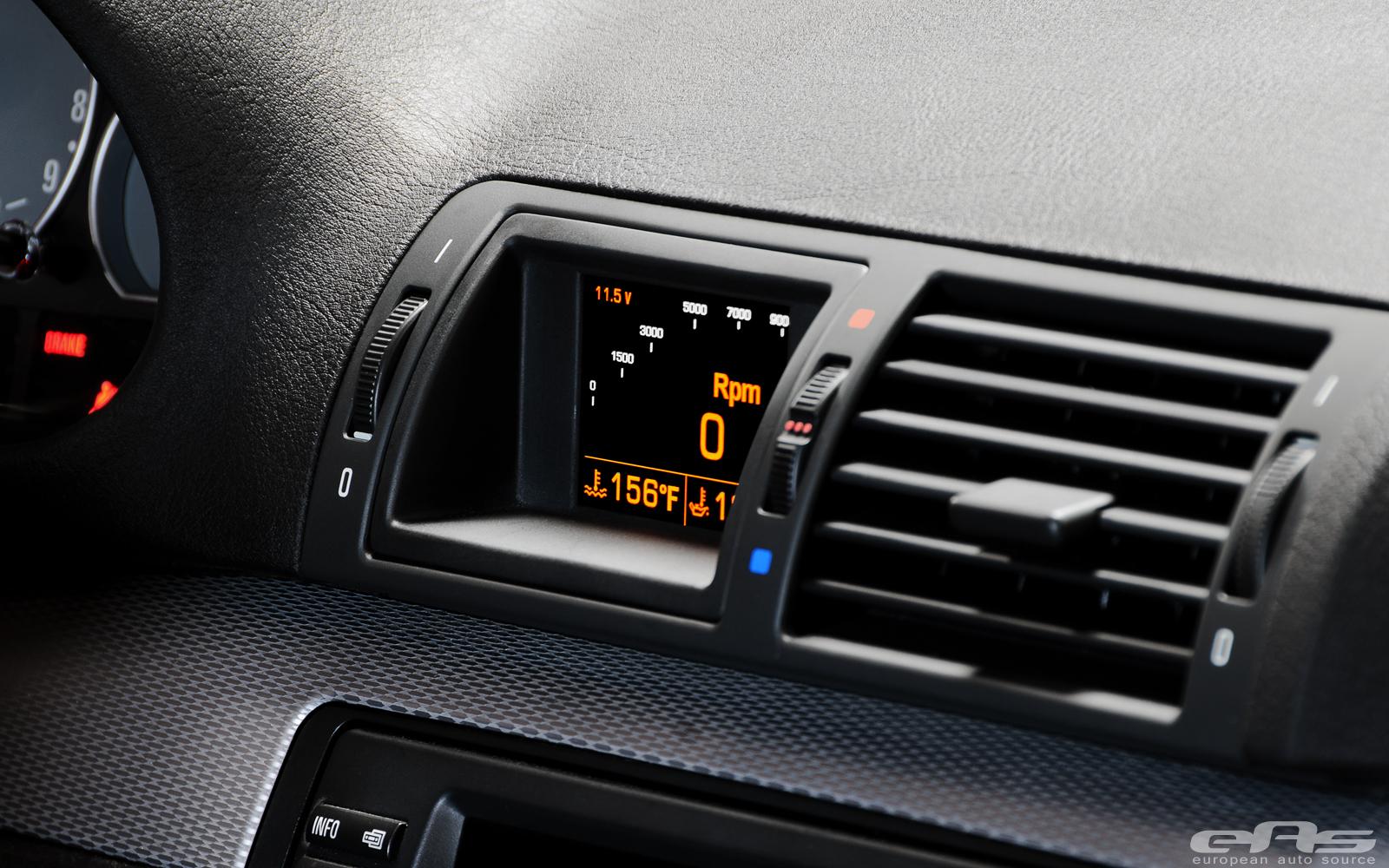 Awron Gauge Installed in E46 M3 | BMW Performance Parts ...