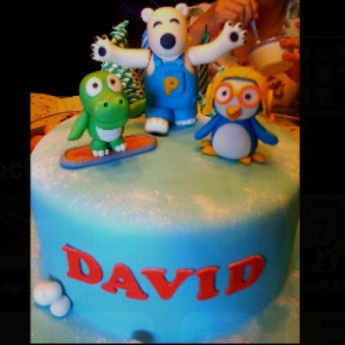 tazzy cake pororo cake