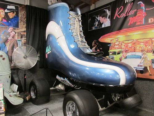 The giant roller skate car.  The Volo Auto Museum.  Volo Illinois.  June 2013. by Eddie from Chicago