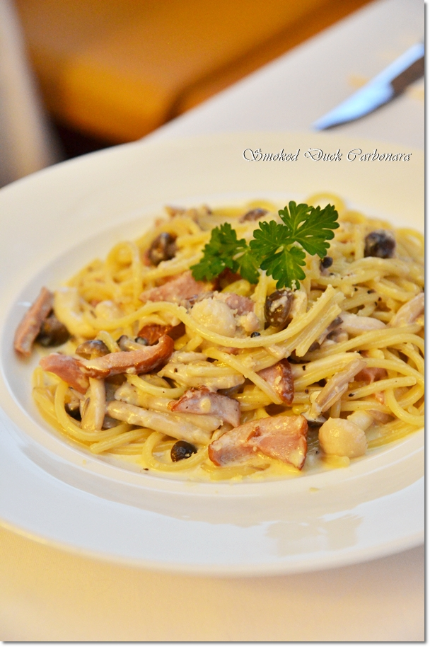 Smoked Duck Carbonara