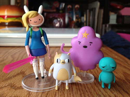 "Mini Review: Adventure Time Toys 3""in"