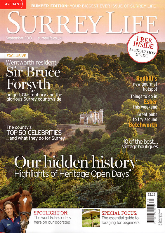 Surrey Life Sept 2013 Cover