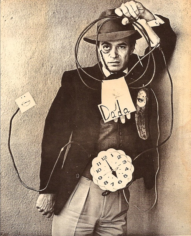 JD as Tristan Tzara in Travesties