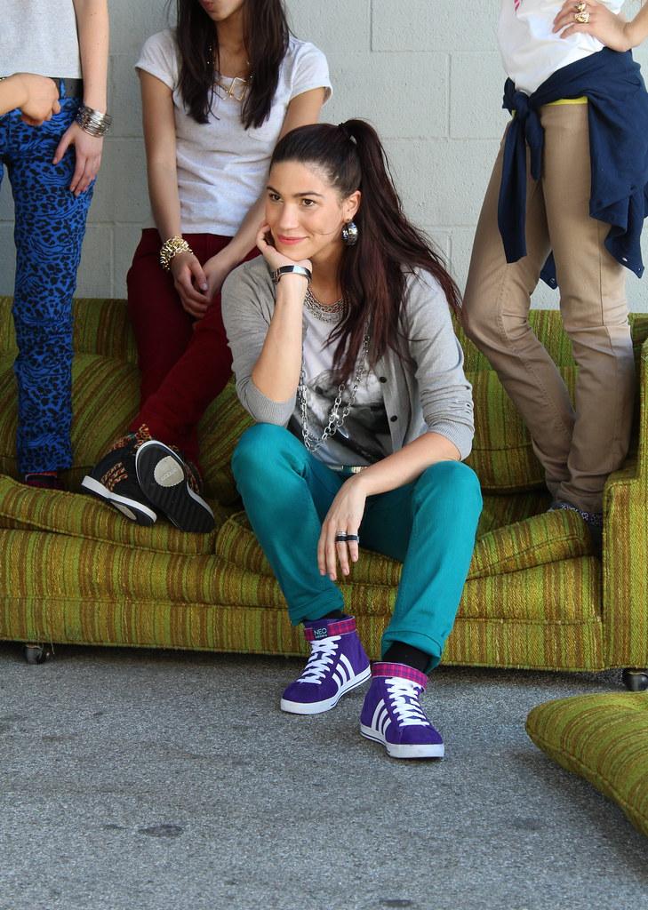 Adidas Neo Alisa Torres fall campaign shoot Los Angeles lisforlois