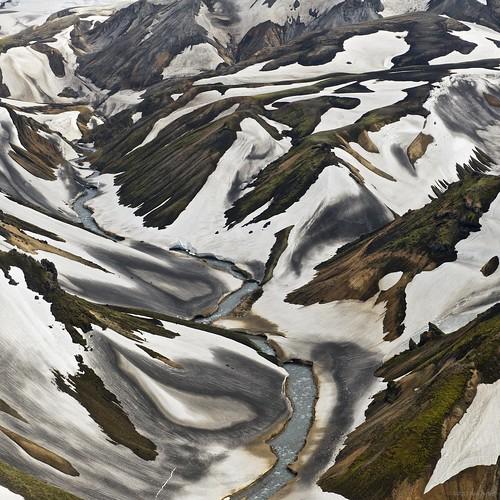 snow river square landscape volcano iceland helicopter landmannalaugar afszoomnikkor2470mmf28ged